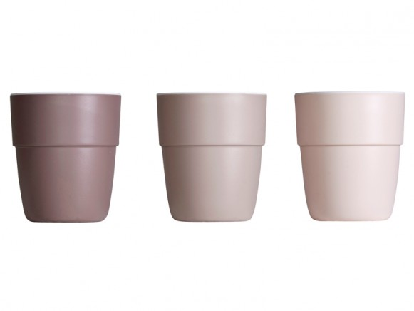 Done by Deer yummy mini mug set of 3 powder tones