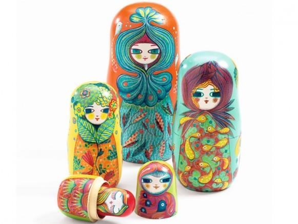 Djeco Nesting Dolls BLOOMCHKAS