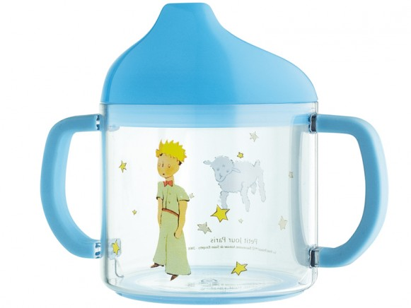 Kids acryl cup with muzzle with The little Prince