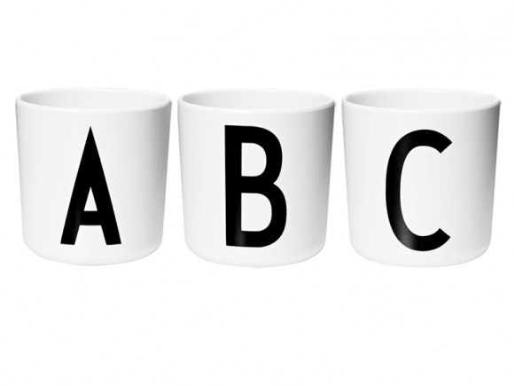 DESIGN LETTERS Personal Melamine Cup