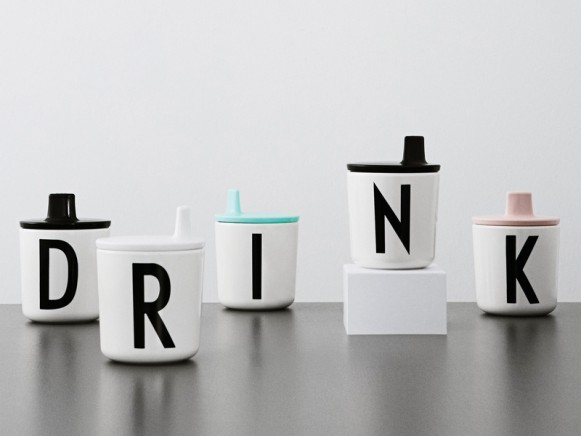 DESIGN LETTERS Drinking Lid for melamine cup