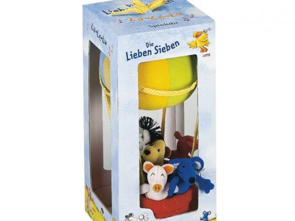 Music box with Die Lieben Sieben for kids by Spiegelburg