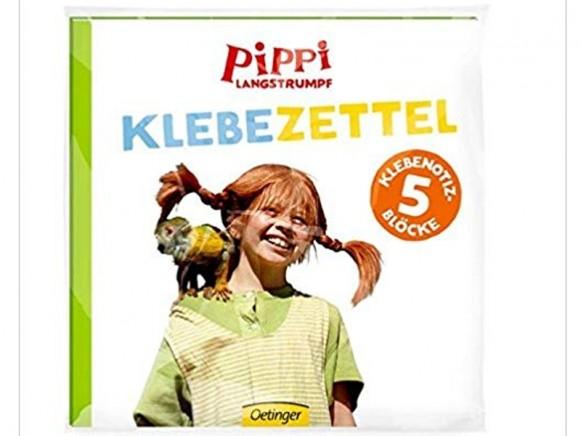 Pippi Longstocking Adhesive Stickers
