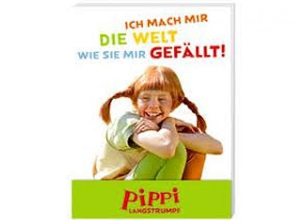 Pippi Longstocking Mini Notebook