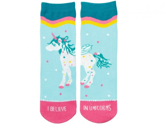 Spiegelburg Magic Socks UNICORN turquoise