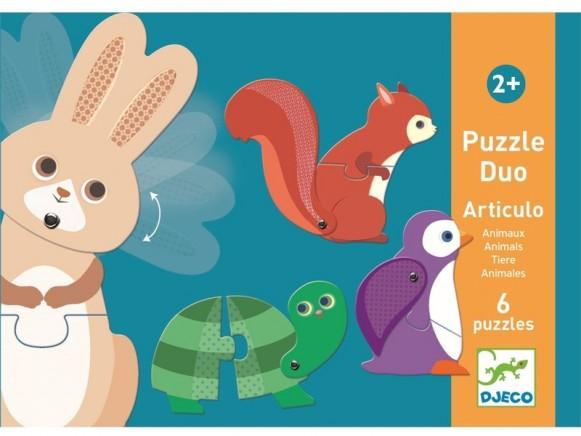 Djeco Wobble-Puzzle ANIMALS