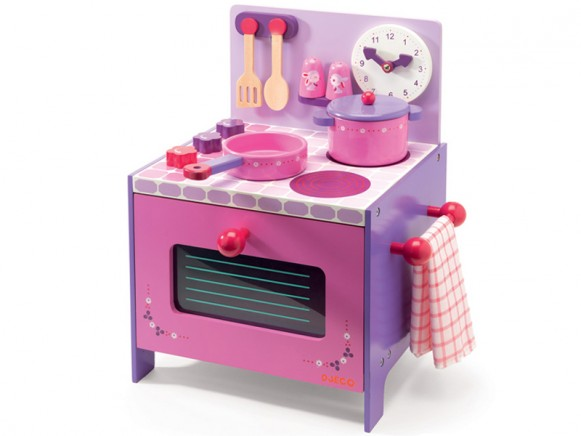 Djeco toy stove Violette's cooker