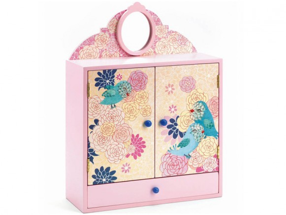 Djeco romantic birds wardrobe