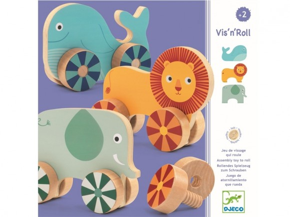 Djeco Learning Toy ROLLING ANIMALS