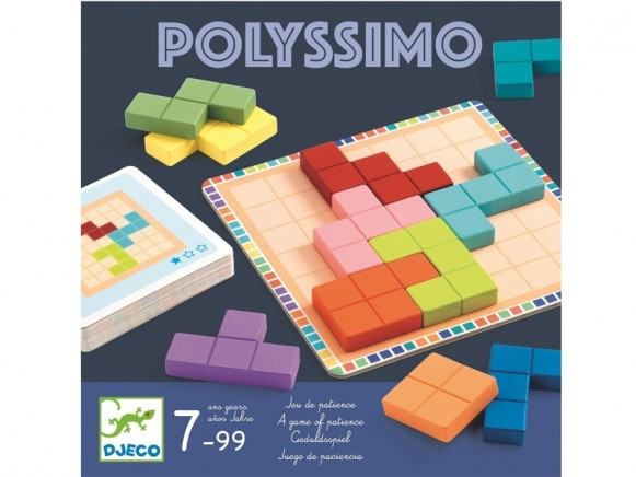 Djeco Patience Game POLYSSIMO