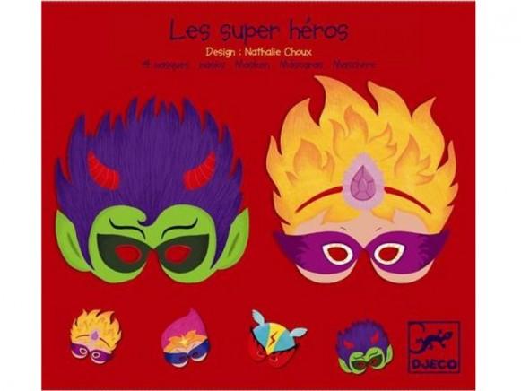 Djeco superhero masks