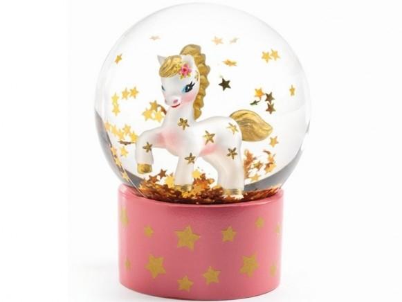 Djeco Mini Snow Globe UNICORN