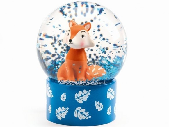 Djeco Mini Snow Globe FOX
