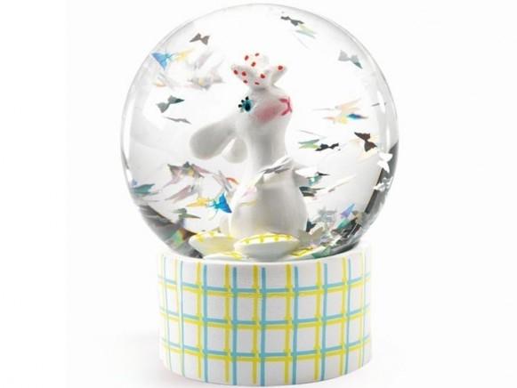 Djeco Mini Snow Globe RABBIT