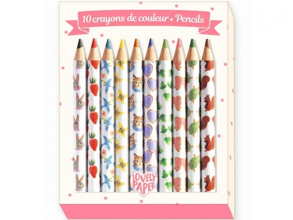 Djeco Mini Pencils AIKO