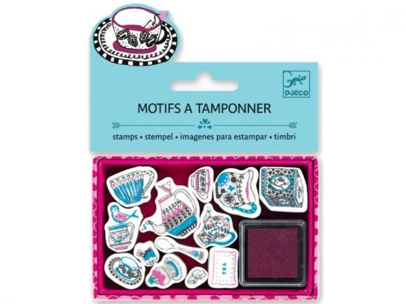 Djeco Stamp set TEA TIME
