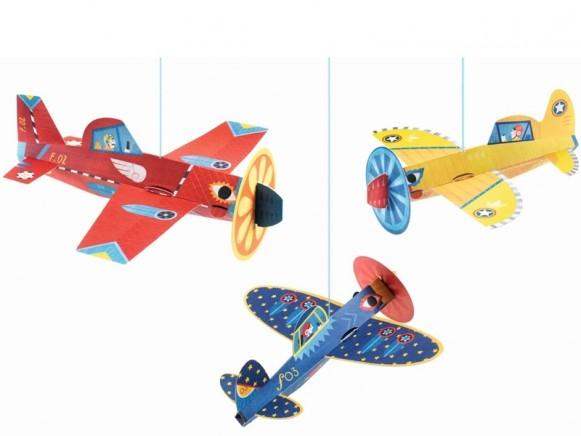 Djeco Paper Mobile AIR PLANES