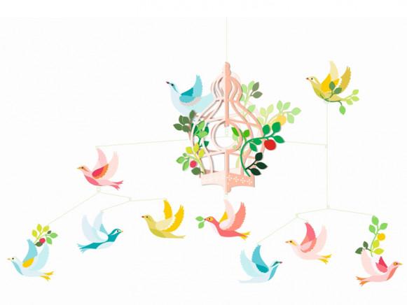 Djeco Mobile BIRDCAGE