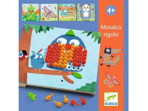 Djeco mosaic game rigolo