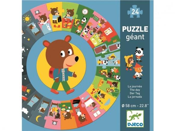 Djeco Floor Puzzle THE DAY