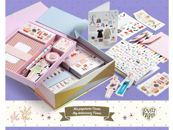Djeco Gift Box Tinou Box FASHION