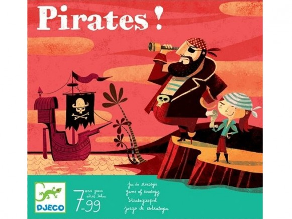 Djeco game of strategy Pirates