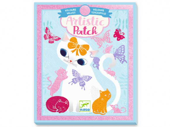Djeco Artistic Patch LITTLE PETS Velvet Collage