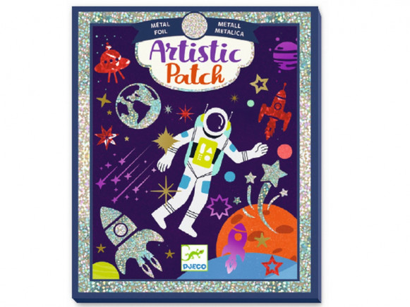 Djeco Artistic Patch Metallic Collage SPACE