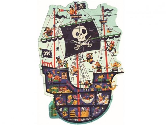 Djeco Floor Puzzle PIRATE SHIP