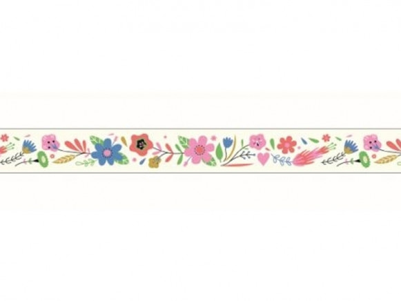 Djeco Decorative Sticky Tape FLOWERS