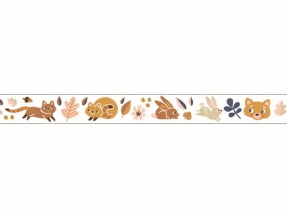Djeco Decorative Sticky Tape ANIMALS