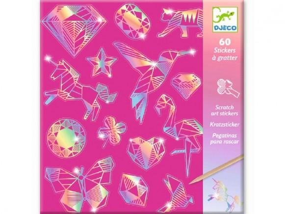 Djeco Scratch Boards DIAMOND