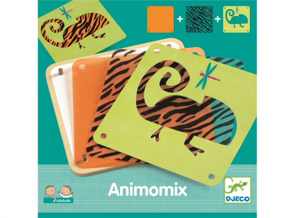 Djeco Learning Game ANIMOMIX