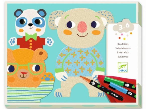Djeco Colouring Templates Animals