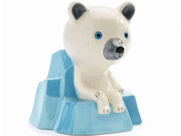 Djeco Money Box POLAR BEAR
