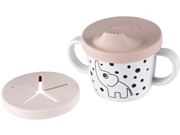 Done by Deer Spout/Snack Cup HAPPY DOTS powder