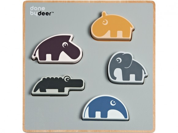 Done by Deer Wooden puzzle deer friends