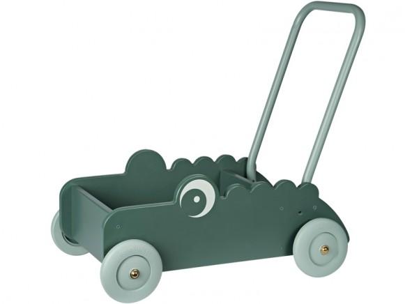 Done by Deer Baby walker CROCO green