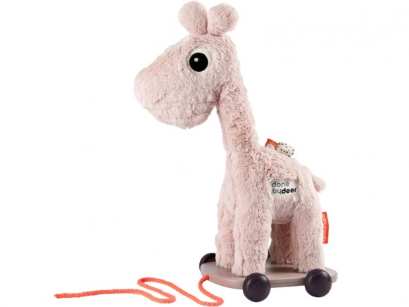 Done by Deer Plush pull along toy RAFFI powder