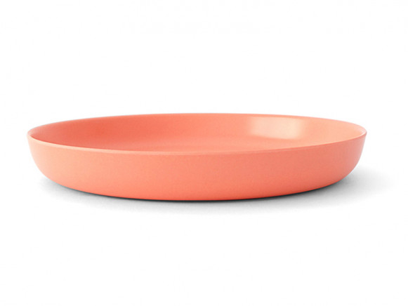 Ekobo Bambino Melamine Plate CORAL