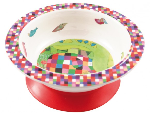 Elmer bowl with suction pad by Petit Jour
