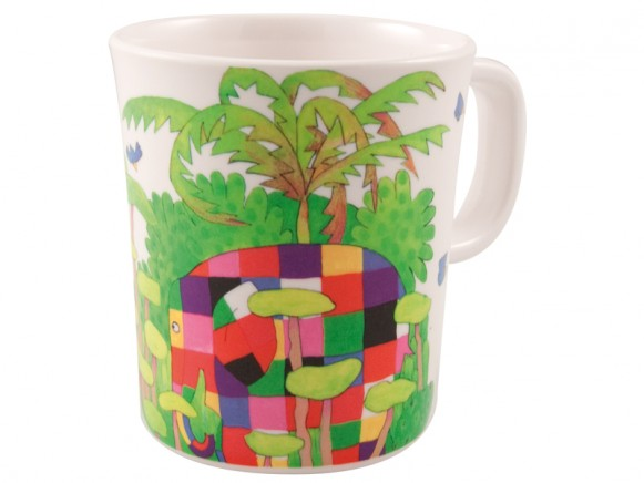 Melamine cup with Elmer by Petit Jour