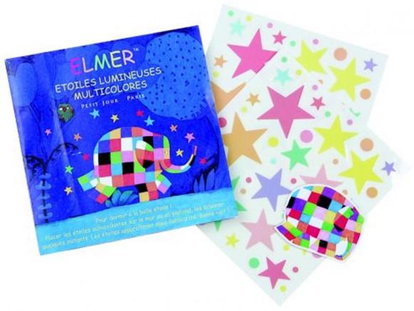 Elmer glowing stars by Petit Jour