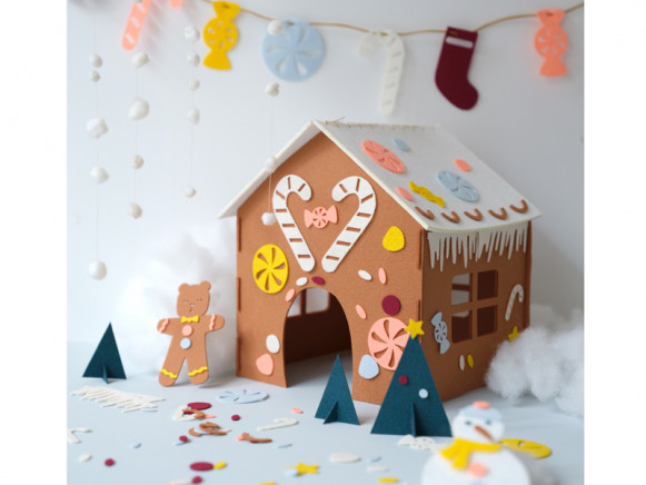 Fabelab DIY Kit GINGERBREAD HOUSE