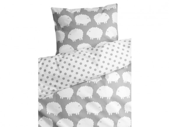 Färg&Form bedding sheep grey
