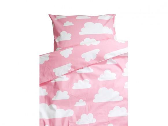 Färg&Form Bedding Moln pink (100x130)