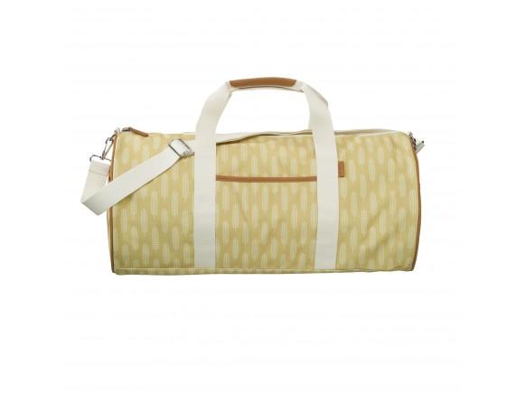 Fresk Weekender Bag Large HAVRE mustard yellow