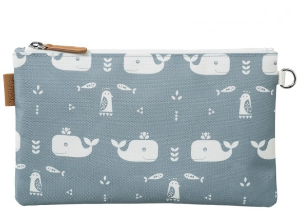 Fresk Toilet Bag WHALE blue