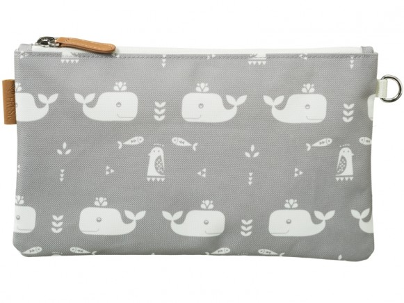 Fresk Toilet Bag WHALE grey