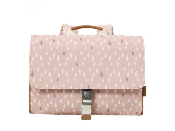 Fresk Kids School bag DROPS pink